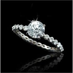 Future husband if it out there stalking. This would be the best ring ever...just sayin!