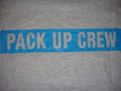 Loved being on the Pack Up Crew! We broke down a roving camp each morning and left the area cleaner than we found it.