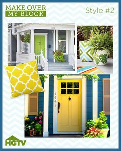 Black shutters brick house grey roof white garage door black front door white sidelights - Home selling four diy tricks to maximize the curb appeal ...