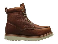 Timberland PRO Timberland PRO(r) 6 Wedge Men's Work Lace-up Boots Rust Full-Grain Leather
