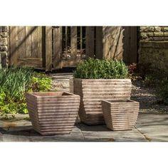"""Nouveau 10/"""" Provence planteur pots en plastique de Jardin Patio Fleur Plante Pot in//outdoor"""