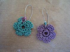 crochet jewelry earrings