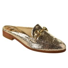 Open Loafer Feminino Schutz S 20107 0061 0014 - Dourado