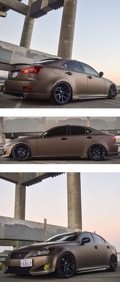 Sick wrap and images of this Lexus from Speed Fiendz Garage. Wrapped with 3M 1080 Matte Brown Metallic.