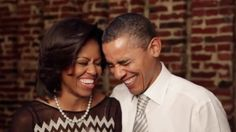 Barack & Michelle...I just love these two together!