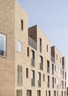 View the full picture gallery of Brentford Lock Duggan Morris, London Brick, Brentford, Brick Architecture, Residential Complex, Social Housing, Building Exterior, House Design, Gallery