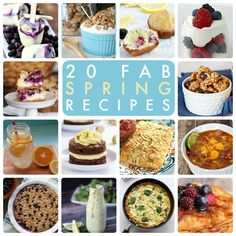 20 Fab Spring Recipes! So many delicious recipes for Spring! -- Tatertots and Jello