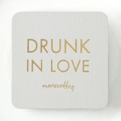 personalized wedding coaster