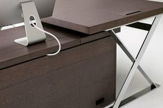 Executive Office Furniture Ac Executive -B&B Italia Project - Design of Antonio Citterio Executive Office Furniture, Home Office Desks, Smart Desk, Back Painted Glass, Storage Cabinets, Best Interior, Bookcase, Furniture Design, Tables