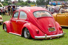 Red VW Beetle 286XUU