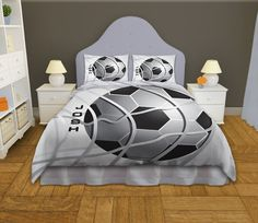 Bedding Soccer Personalized Soccer Bedding by EloquentInnovations, $164.00