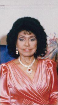 Eunice Johnson, Publishing Pioneer for JET and EBONY Magzine and Founder of Ebony Fashion Fair Cosmetics