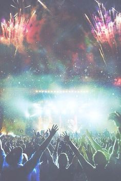 Giant Praise nights. When no one can hear me and I'm free to move around a little, it feels like this picture.