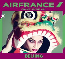 nice vintage style airfrance campaign