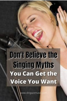There's nothing stopping you from getting the voice you want. Don't believe those singing myths. You can learn to sing. #singbetter #learntosing #howtosingbetter #singingmyths