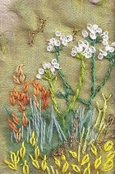 Image result for modern embroidery english meadow
