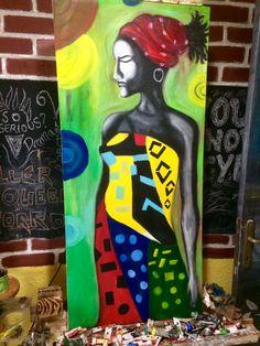 African Colors-Oil Paint