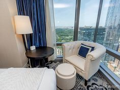 This is how #NYC was meant to be experienced - from the plush leather chair of this #vacation #rental. http://www.nyhabitat.com/new-york-apartment/vacation/16094