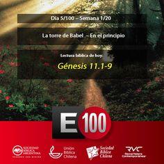 Lectura05: La Torre de Babel - Génesis 11:1–11:9 http://bible.us/Gen11.1.RVC #Biblia - Favor retweet