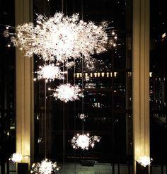 The Met Crystal Chandeliers