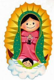 Our lady of guadalupe childish vector Virgin Mary Art, Blessed Virgin Mary, Arte Do Mickey Mouse, Madona, Church Pictures, Catholic Pictures, Mama Mary, Christian Crafts, Catholic Kids