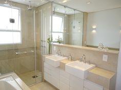 Sete banheiros mais modernos e aconchegantes depois da reforma - Casa