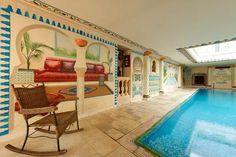 La piscine de la Chambre d'hôte de l'Amphore du Berry de Saint-Amand-Montrond, à partir de 80€/nuit pour 2 personnes - Cliquez sur l'image pour accéder à la fiche descriptive
