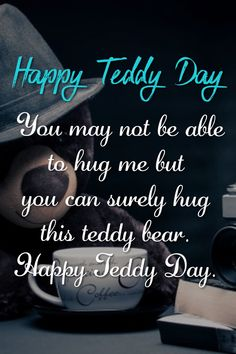 Teddy day massages and wishes. Happy Teddy Bear Day, Happy Kiss Day, Teddy Day, Valentines Day Love Quotes, Handmade Diary, Night Sky Wallpaper, Armpit Fat, Infinity Mirror, New Year Wishes