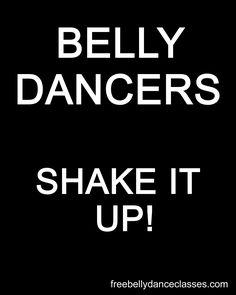 Belly dance ecards