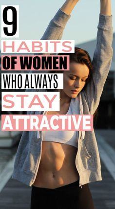 9 Habits of Women Who Always Stay Attractive : These beauty tips and beauty habits are seriously helpful! I'm so glad I found these beauty hacks! They'll really help out my beauty routine. Daily Beauty Tips, Beauty Habits, Beauty Tips For Face, Beauty Secrets, Face Care Tips, Skin Care Tips, Face Tips, Beauty Care, Diy Beauty