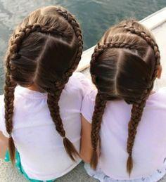 20 divertidas trenzas para niñas
