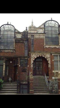 Old Victorian art studios. London
