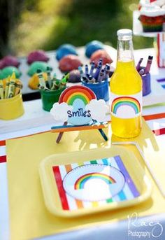 Rainbow Theme Party Ideas