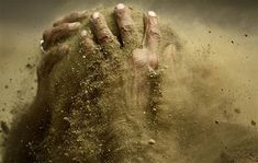 dirt - I wrote something about dirt being tranformative - based on John 9