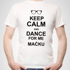 Koszulka personalizowana męska KEEP CALM AND... idealny na urodziny