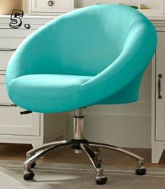 Beau Cute Desk Chair, Teen Desk Chair, Cool Desk Chairs, Teen Girl Desk,