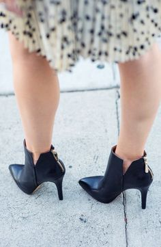 black booties-Kacee from Life with Lipstick On