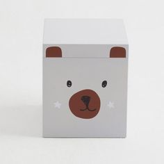 Storage Stool - Mr Bear