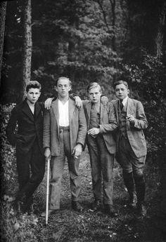 Vintage little men