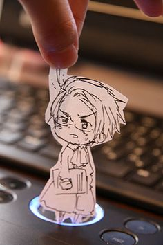 Austria, Hetalia Paper Children - These were made by the creator of Hetalia, Himaruya Hidekaz.