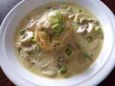 Cuketové gule - knedle, Hlavné jedlá, recept   Naničmama.sk Jamie Oliver, Cheeseburger Chowder, Hummus, A Table, Soup, Ethnic Recipes, Soups