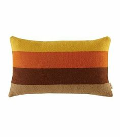 Striped Alpaca Throw Pillow in Orange by Amenity. $117.00. Quick Ship12 x 20 InchesSimple stripes in bright natural palettes create a modern yet timeless look for your child's room. The Striped Alpaca Throw Pillow in Orange gets its softness and deep, rich color from 100% alpaca wool dyed with eco-friendly dyes. These pillows are made in with the help of Peruvian conservationists who believe in creating sustainable products that bring a fair wage and viable livelih...