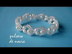 DIY – DIY wedding bracelet – Bridal bracelet – Diy Home Decoration Bead Jewellery, Seed Bead Jewelry, Pearl Jewelry, Wedding Jewelry, Beaded Jewelry, Handmade Jewelry, Jewelry Patterns, Bracelet Patterns, Beaded Rings