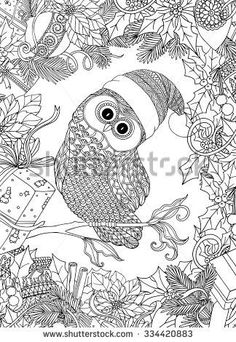 christmas coloring book for adults - Google Search …