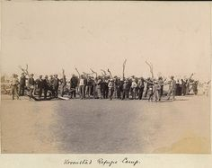 Photos in Photos from Anglo Boere Oorlog/Boer War (1899-1902) KROONSTAD Camp/Kamp Armed Conflict, The Siege, African History, Military History, Old Pictures, South Africa, Britain, Camping, War