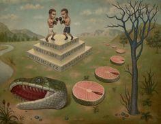 Artist: Marion Peck, Title: Sliced Serpent, 2012