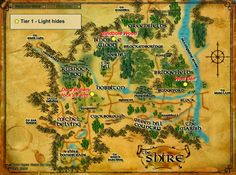 Wonderful Places in LOTRO's Middle Earth: Hides - and where to farm them