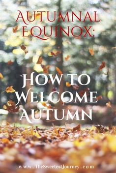 Autumnal Equinox: How to Welcome Autumn