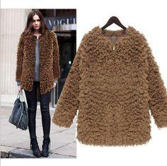 Fashion Women Ladies Warm Wool Blend Winter Parka Coat Trench Outwear Jacket New | eBay