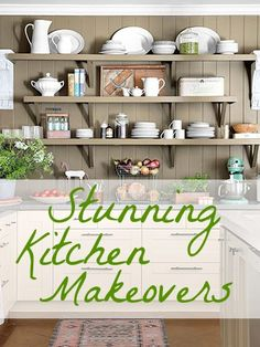 These kitchen makeovers are great for home design inspiration.